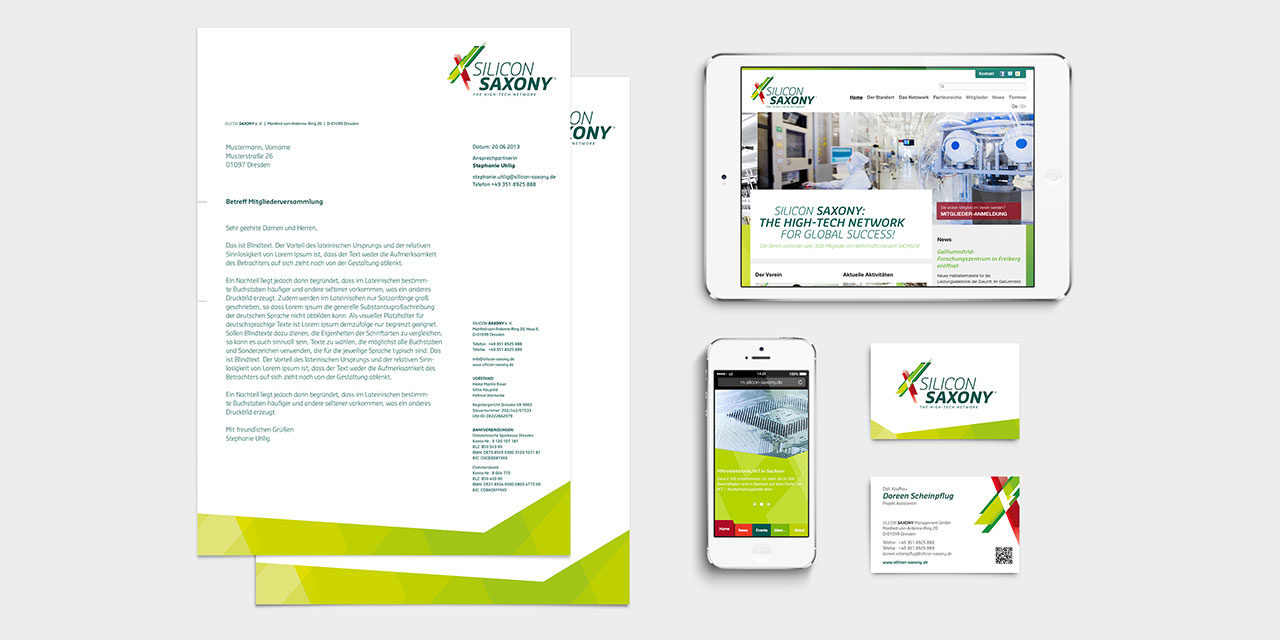 Corporate Design Relaunch