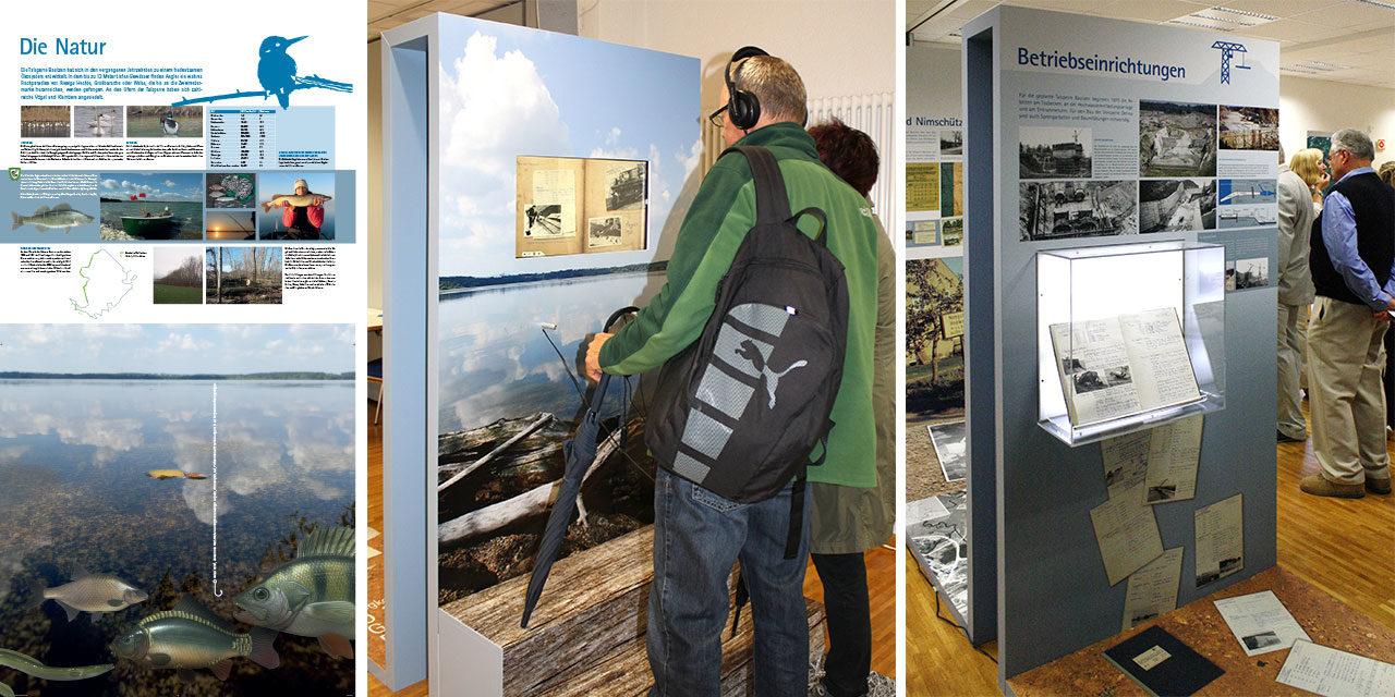 Wanderausstellung zum 40-jährigen Jubiläum der Talsperre Bautzen, 2014