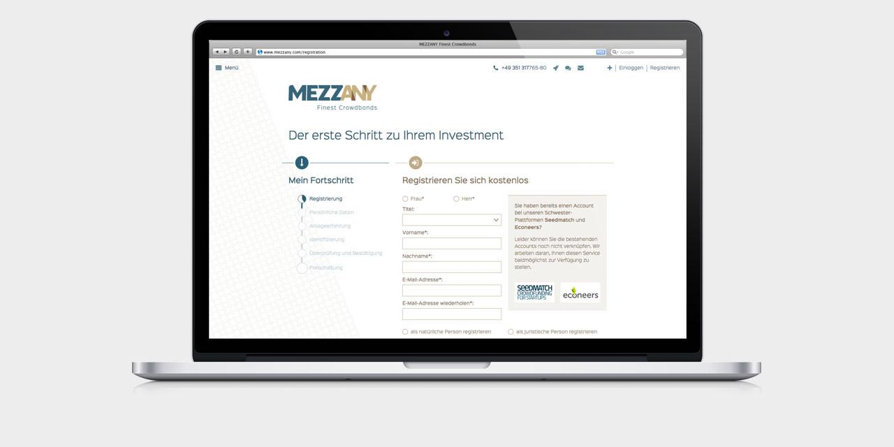 Die Crowdinvesting-Plattform