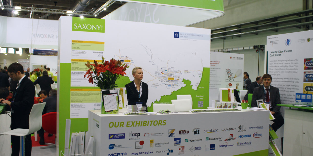 Messeauftritt: Semicon 2012