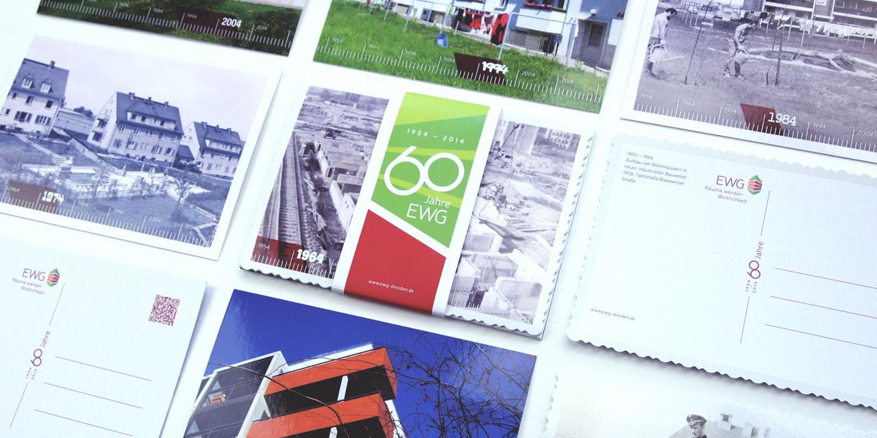 Jubiläumspostkarten