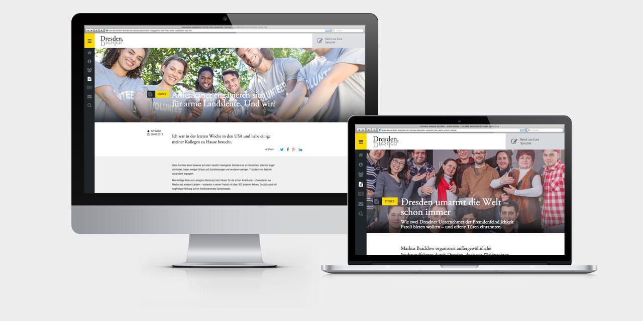 Die Website