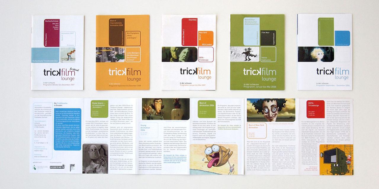 Flyer Trickfilmlounge