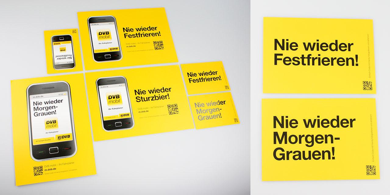Die DVB-Mobil-Kampagne, 2012