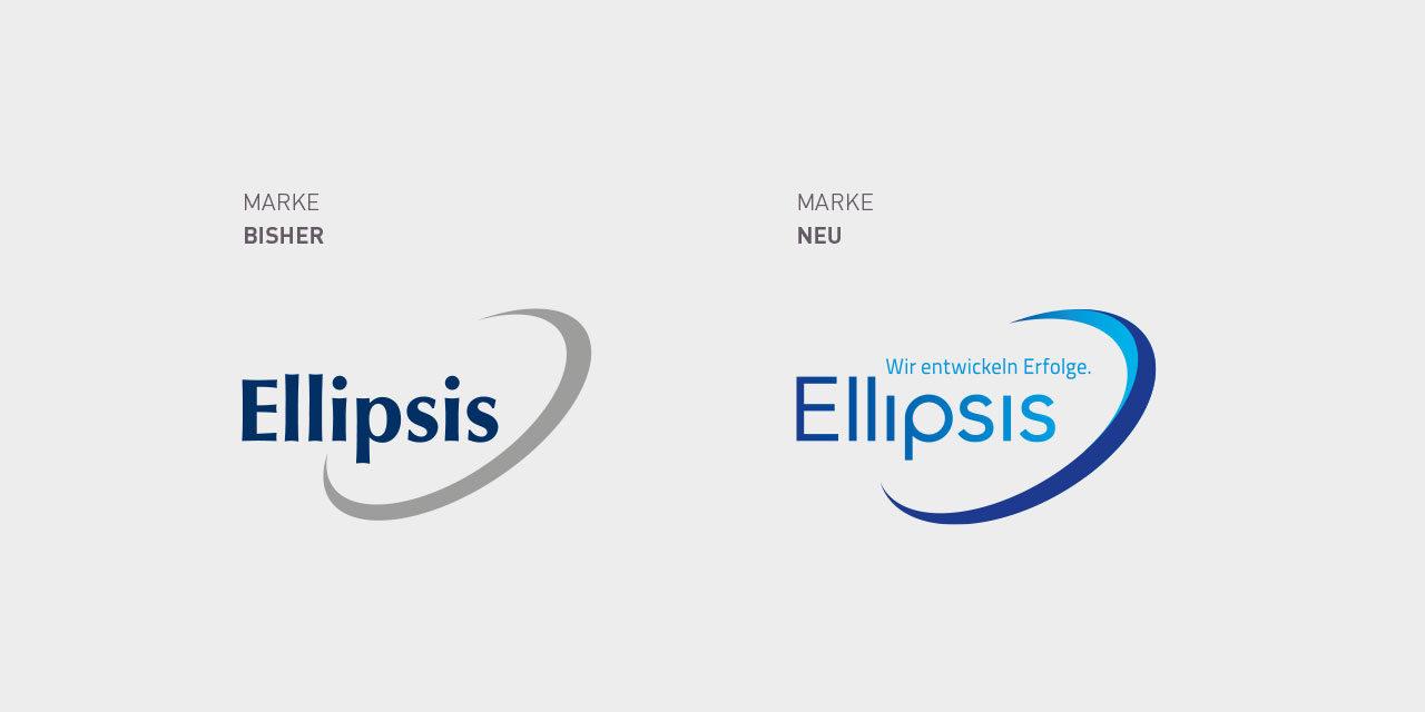 Das Logo vorher und nachher