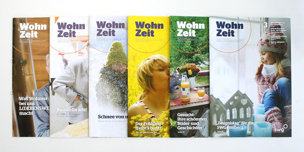 WohnZeit – Mietermagazin 2015–2016