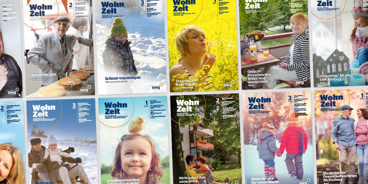 WohnZeit – Mietermagazin 2013–2019
