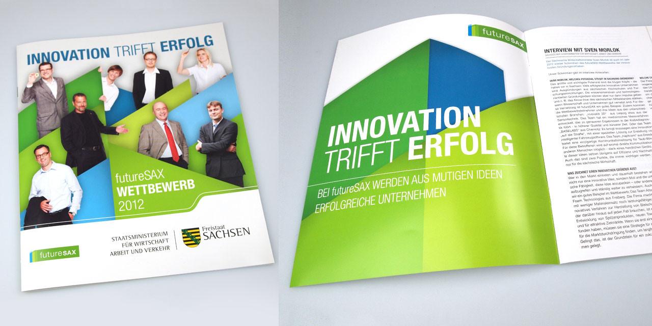Die Broschüre 2012