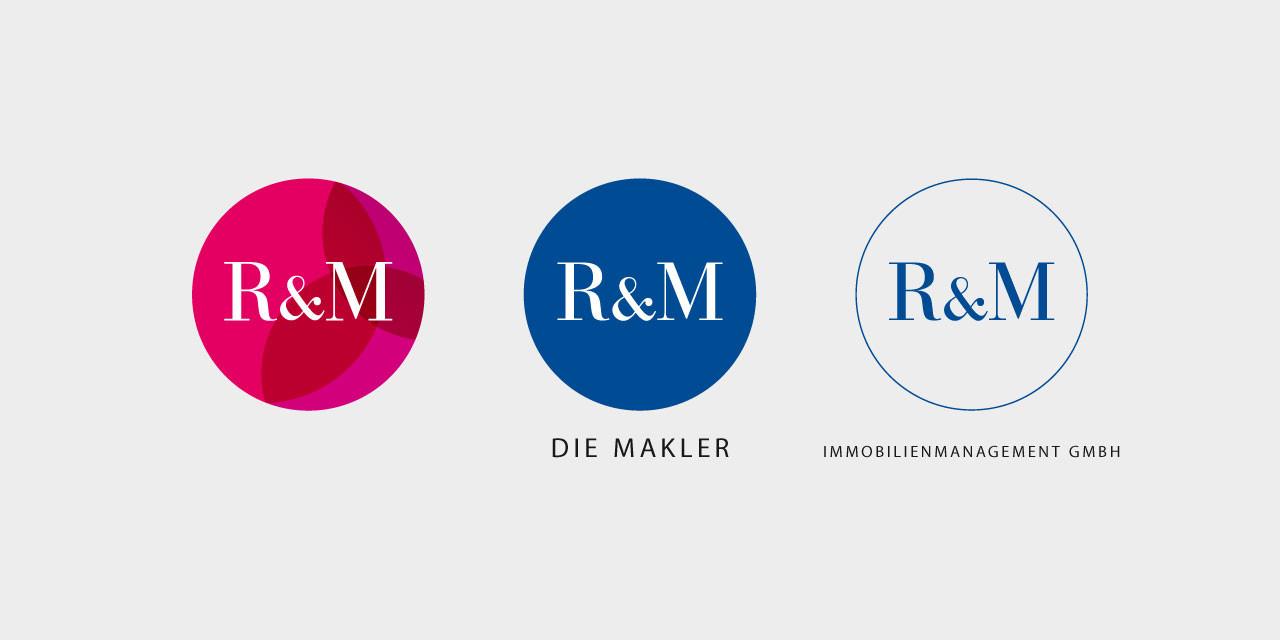 Die Logos der R&M-Gruppe