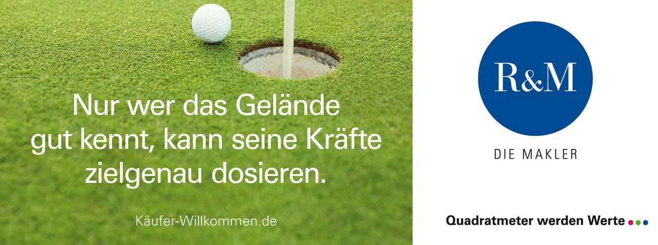 Golfplatzbeschilderung