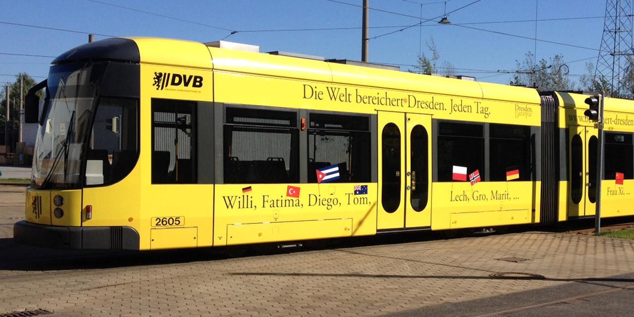 Tram © DVB AG