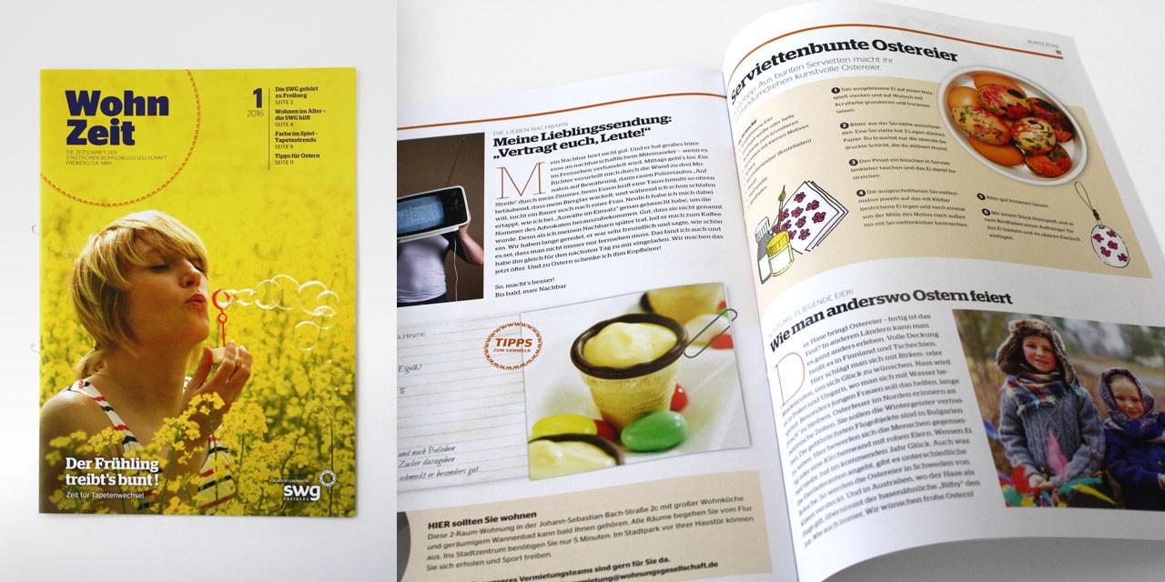 WohnZeit – Mietermagazin 2016