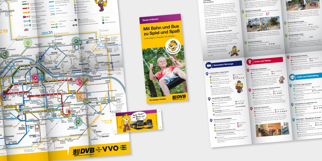 Für junge Eltern: Liniennetzplan und Kinderticket