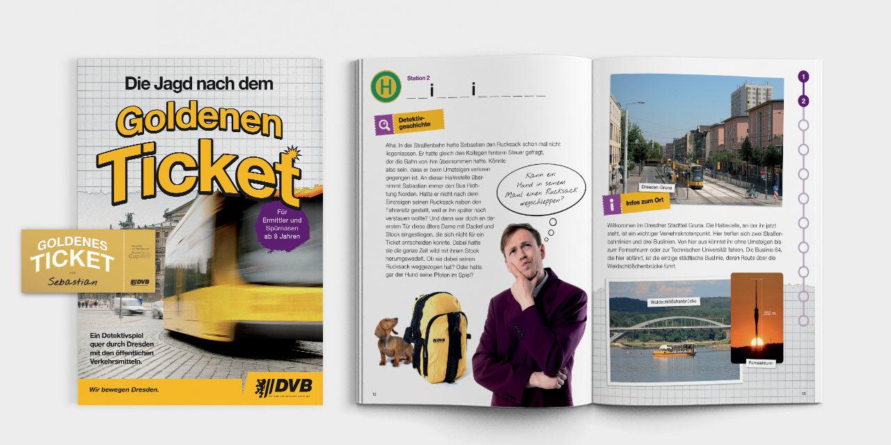 Für Klasse 3 und 4: Detektivspiel quer durch Dresden mit dem ÖPNV
